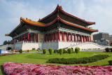 National Theatre on the Grounds of the Chiang Kai-Shek Memorial Hall, Taipeh, Taiwan Photographic Print by Michael Runkel