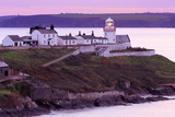 Roches Point Lighthouse, Whitegate Village, County Cork, Munster, Republic of Ireland, Europe Photographic Print by Richard Cummins