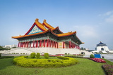 National Concert Hall on the Grounds of the Chiang Kai-Shek Memorial Hall, Taipeh, Taiwan Photographic Print by Michael Runkel