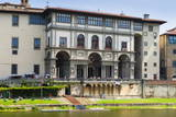 The Uffizi, Arno River, UNESCO World Heritage Site, Florence (Firenze), Tuscany, Italy, Europe Photographic Print by Nico Tondini