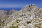 Serpentine Road to the Bay Cala De Sa Calobra Photographic Print by Markus Lange