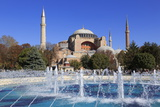 Haghia Sophia, UNESCO World Heritage Site, Sultanahmet District, Istanbul, Turkey, Europe Photographic Print by Richard Cummins