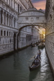 Bridge of Sighs, Venice, UNESCO World Heritage Site, Veneto, Italy, Europe Photographic Print by Angelo Cavalli