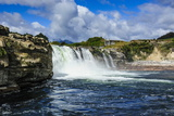 Maruia Falls, Lewis Pass, South Island, New Zealand, Pacific Photographic Print by Michael Runkel