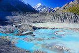 Mount Cook National Park, UNESCO World Heritage Site, South Island, New Zealand, Pacific Photographic Print by Michael Runkel