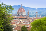 View of City Center of Florence (Firenze), UNESCO World Heritage Site, Tuscany, Italy, Europe Photographic Print by Nico Tondini