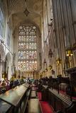 Bath Abbey Interior, Bath, Avon and Somerset, England, United Kingdom, Europe Fotografisk trykk av Matthew Williams-Ellis