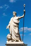Statue of Ferdinando Iii Duke of Lorraine, Piaggia Del Murello, Arezzo, Tuscany, Italy, Europe Photographic Print by Nico Tondini
