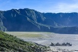 View over the Mount Bromo Crater, Bromo Tengger Semeru National Park, Java, Indonesia Photographic Print by Michael Runkel