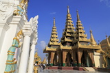 Shwedagon Pagoda, Yangon (Rangoon), Myanmar (Burma), Asia Photographic Print by Richard Cummins