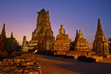 Wat Chai Wattanaram, Ayutthaya Historical Park, Ayutthaya, Thailand, Southeast Asia, Asia Photographic Print by Tuul
