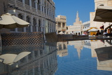 The Restored Souq Waqif and Spiral Mosque of the Kassem Darwish Fakhroo Islamic Centre Photographic Print by Frank Fell