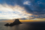 Sunset, Es Vedra and Vedranell, Ibiza, Balearic Islands, Spain, Mediterranean, Europe Photographic Print by Emanuele Ciccomartino