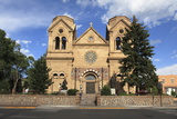 St. Francis Cathedral (Basilica of St. Francis of Assisi), Santa Fe, New Mexico, Usa Photographic Print by Wendy Connett