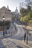 The Montmartre Area with the Sacre Coeur Basilica in the Background, Paris, France, Europe Photographic Print by Julian Elliott