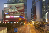 Megabox Shopping Mall and Entreprise Square Three at Dusk, Kowloon Bay, Kowloon Photographic Print by Ian Trower