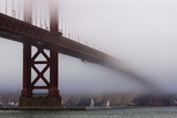 Golden Gate Bridge in the Mist, San Francisco, California, United States of America, North America Photographic Print by Jean Brooks