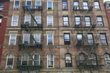 Buildings Featured on Cover of Led Zeppelin Album Physical Graffiti, St. Marks Place, East Village Photographic Print by Wendy Connett