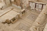 Elevated View of Mosaics, Murals and Frescoes in a Terrace House, Curetes Street Photographic Print by Eleanor Scriven
