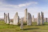 The Callanish Stones on the Isle of Lewis, Outer Hebrides, Scotland, United Kingdom, Europe Photographic Print by Julian Elliott