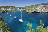 Bay of Cala Figuera, Majorca (Mallorca), Balearic Islands (Islas Baleares) Photographic Print by Markus Lange