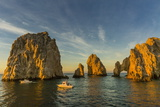 Sunrise with Fishing Boats at Land's End, Cabo San Lucas, Baja California Sur Photographic Print by Michael Nolan