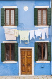 A Colorful House on Burano, Venice, Veneto, Italy, Europe Photographic Print by Julian Elliott