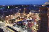 Festival of Wine in the Market Place and Town Hall, Heilbronn, Baden Wurttemberg, Germany, Europe Photographic Print by Markus Lange