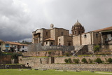 View over the Qorikancha and Santo Domingo Church, Cuzco, Peru, South America Photographic Print by Yadid Levy