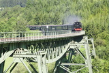 Viaduct, Sauschwanzlebahn, Historical Railway Photographic Print by Markus Lange