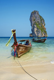 Ao Phra Nang Bay, Ko Poda Island, Krabi Province, Thailand, Southeast Asia, Asia Photographic Print by Tuul