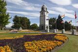 Seymour Square and Clock Tower, Blenheim, Marlborough Region, South Island, New Zealand, Pacific Photographic Print by Stuart Black