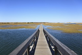 Boardwalk, Salt Marsh, Sandwich, Cape Cod, Massachusetts, New England, Usa Photographic Print by Wendy Connett