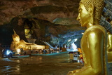 Wat Tham Suwan Khuha Buddhist Cave, Phang Nga Bay, Krabi Province, Thailand, Southeast Asia, Asia Photographic Print by Tuul