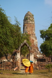 Wat Phra Ram, Ayutthaya Historical Park, Ayutthaya, Thailand, Southeast Asia, Asia Photographic Print by Tuul