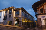 The Exterior of the Jw Marriott Hotel Which Is an Old Restored Convent, Cuzco, Peru, South America Photographic Print by Yadid Levy