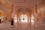 Hall of Public Audience (Diwan-E-Khas), City Palace, Jaipur, Rajasthan, India, Asia Photographic Print by Peter Barritt