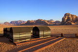 Bedouin Camp, Wadi Rum, Jordan, Middle East Photographic Print by Neil Farrin