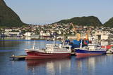 Fishing Boats, Alesund, More Og Romsdal, Norway, Scandinavia, Europe Photographic Print by Eleanor Scriven