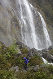 Earland Falls, Routeburn Track, Fiordland National Park, South Island, New Zealand, Pacific Photographic Print by Stuart Black