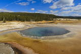 Crested Pool; Hot Spring; Upper Geyser Basin, Yellowstone National Park, Wyoming, Usa Photographic Print by Eleanor Scriven