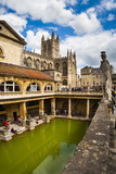 Roman Baths, UNESCO World Heritage Site, Bath, Avon and Somerset, England, United Kingdom, Europe Photographic Print by Matthew Williams-Ellis