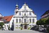 Town Hall, Market Square, Wangen, Upper Swabia, Baden Wurttemberg, Germany, Europe Photographic Print by Markus Lange