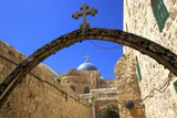 Ethiopian Monastery and Church of the Holy Sepulchre, Old City, Jerusalem, Israel, Middle East Photographic Print by Neil Farrin