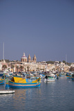 Marsaxlokk, Malta, Mediterranean, Europe Photographic Print by Nick Servian