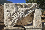 Relief of Nike, Winged Goddess of Victory, Roman Ruins of Ancient Ephesus Photographic Print by Eleanor Scriven