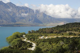Twelve Mile Delta Department of Conservation Campground on Lake Wakatipu, Near Queenstown, Otago Photographic Print by Stuart Black