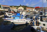 Harbourside with Boats and Cafes, Fiskardo, Kefalonia (Cephalonia) Photographic Print by Eleanor Scriven