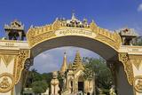 Gateway to Shwedagon Pagoda, Yangon (Rangoon), Myanmar (Burma), Asia Photographic Print by Richard Cummins