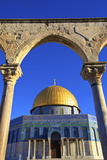 The Dome of the Rock, Temple Mount, UNESCO World Heritage Site, Jerusalem, Israel, Middle East Photographic Print by Neil Farrin